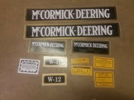W-12 Decal set
