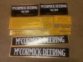 W-30 decal set